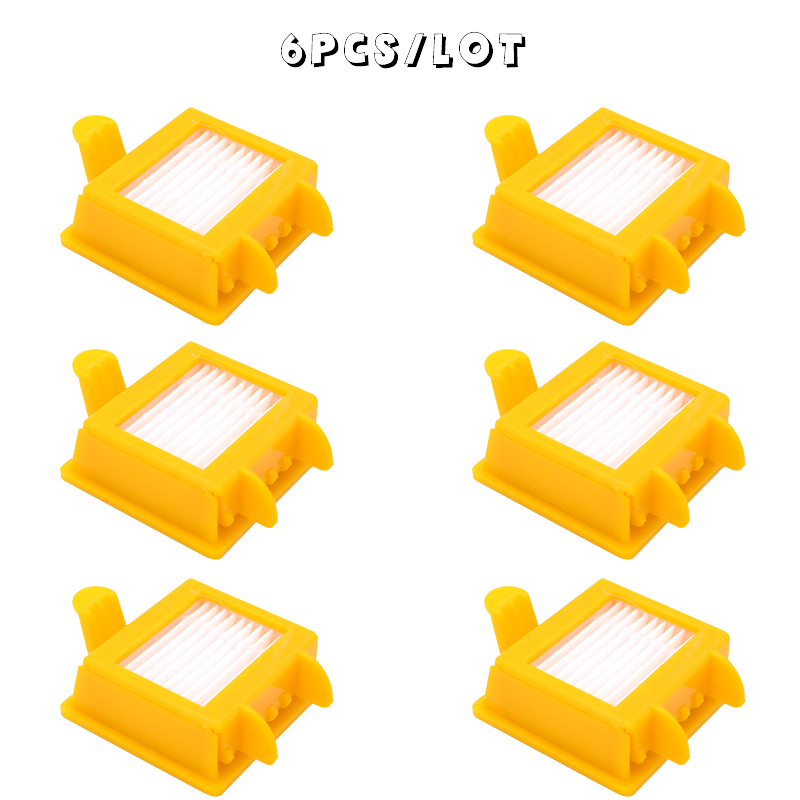 6 Piece/batch, New High Quality Hepa Filter For IRobot Roomba 700 Series (760 770 780 790) Vacuum Cleaner Robot Spare Parts
