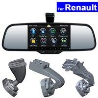 Car Rear View Mirror DVR GPS Bluetooth WIFI for Renault Koleos Megane Fluence Latitude Scenic Talisman Android Auto Monitor