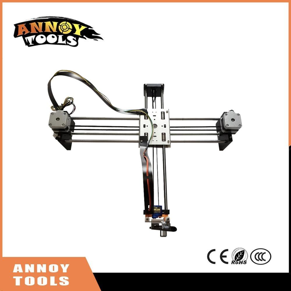 все цены на ANNOYTOOLS Newest Robot Writting machine DIY laser engraving machine Robot drawing machine with Marker Pen онлайн