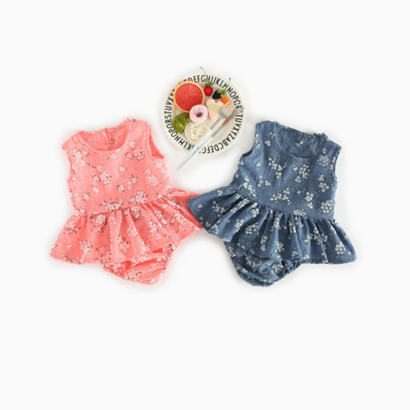 0-4Years Summer time New child Child Lady Garments Women Floral Tank Prime +bow-knot Shorts 2PCS Outfits Bebek Toddler Youngsters Clothes Set Clothes Units, Low cost Clothes Units, Zero 4Years...