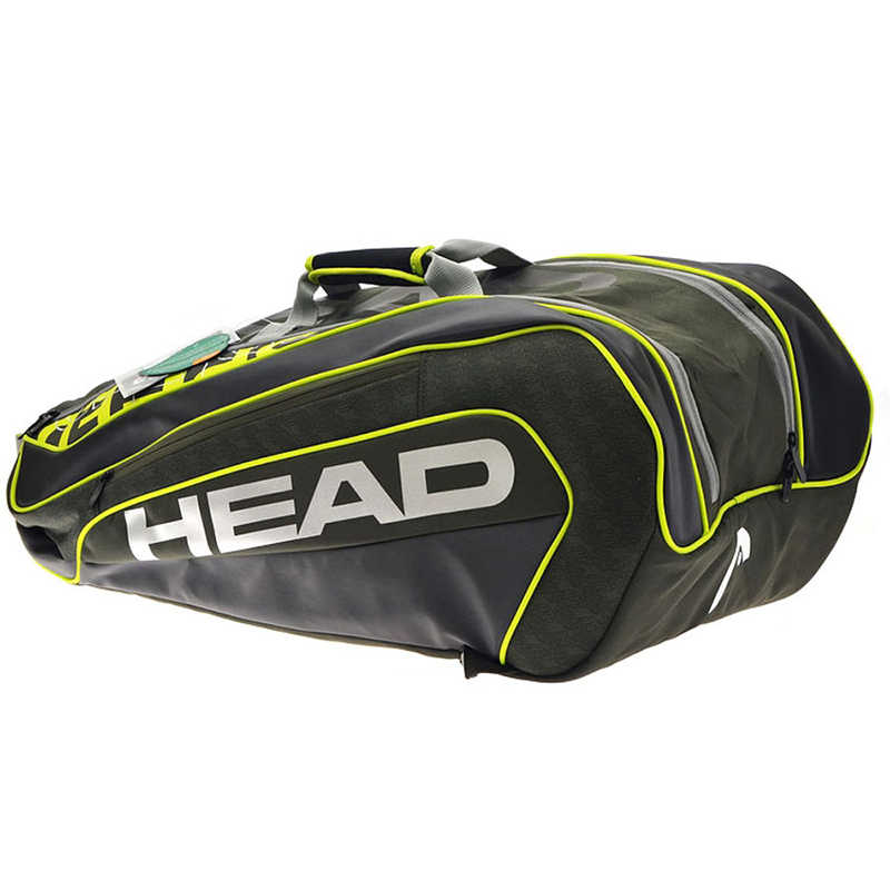 2018 Original Black Head Tennis Bag Multi-function Large Capaicity HEAD Tennis Rackets Bag For 6 Tennis Racquets Bag Top Quality