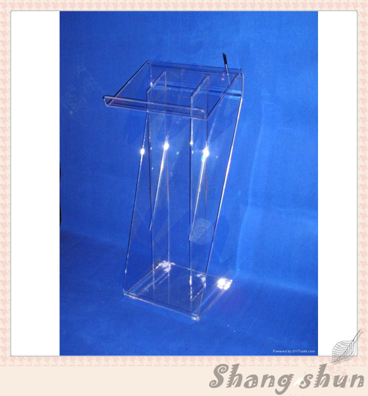 Clear Acrylic Tabletop Podium Stand, Plexiglass Lectern,PMMA Puplit church pastor the church podium lectern podium desk lectern podium christian acrylic welcome desk front desk
