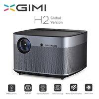 XGIMI H2 проектор Full HD 1920*1080 1350 ANSI люмен 300 дюймов DLP 3D проектор Поддержка 4 K Android WIFI Bluetooth проектор