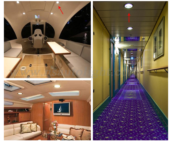 12V LED Cabin Dome Light Boat/Marine/Caravan/Ceiling Lamp, White 3W Led  Yacht Ship Interior Flood Lamp In Underwater Lights From Lights U0026 Lighting  On ...