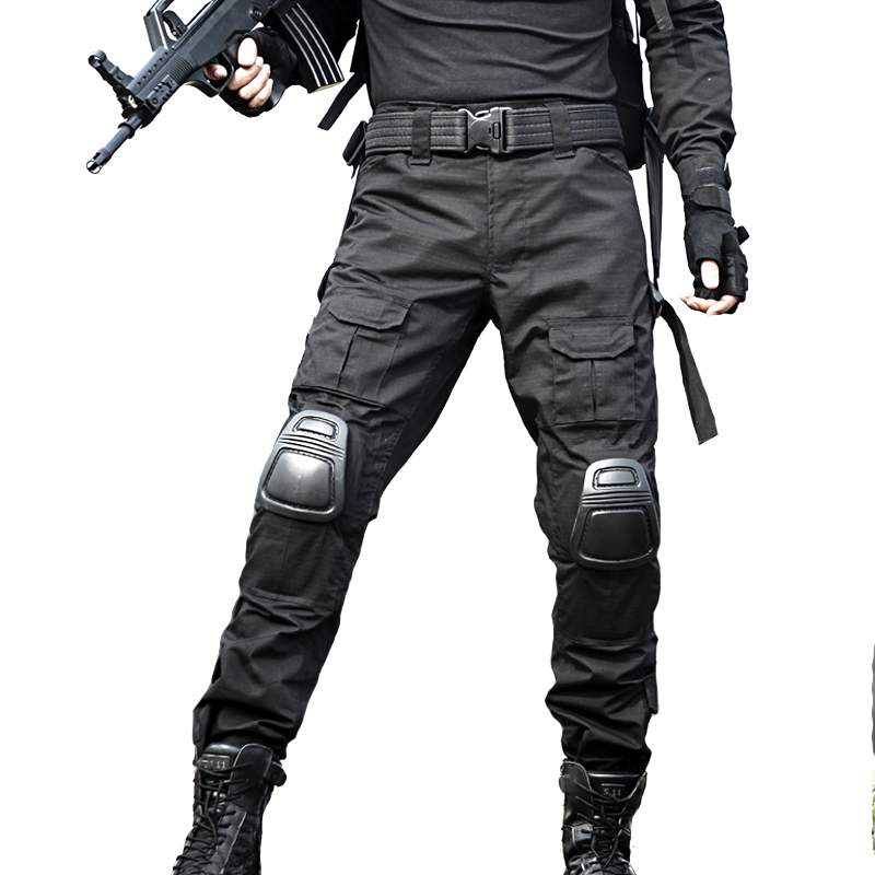 Cargo-Pants Work-Trouser SWAT Hunter Combat Military-Style Army War-Game Tactical Camouflage