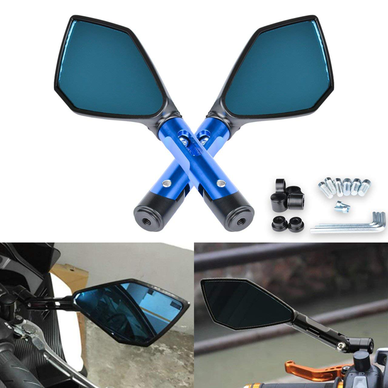 UNIVERSAL 8MM THREAD MOTORCYCLE MIRRORS HONDA BARGAIN CLEARANCE PRICE SALE !!!