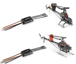 Image 5 - 1pc 원래 hobbywing 플래티넘 프로 v4 120a 3 6 s lipo bec 빈 금형 brushless esc rc 무인 항공기 헬리콥터