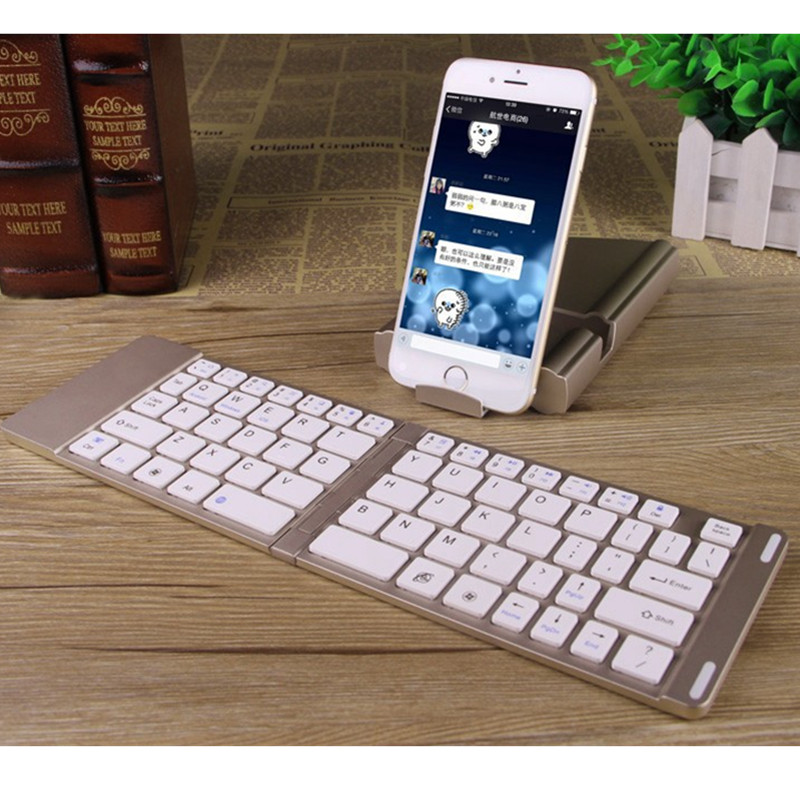 Goestime Universal Mobile Phone Luxury Bluetooth Keyboard