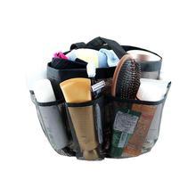 Oxford Cloth Mesh Storage Tote Bag Organizer 8 Pockets Durable Bathroom Storage Bag