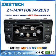 ZESTECH touch screen auto multimedia system Car dvd gps FOR MAZDA 3 2004-2009 Car dvd gps with canbus,gps antena,RCA