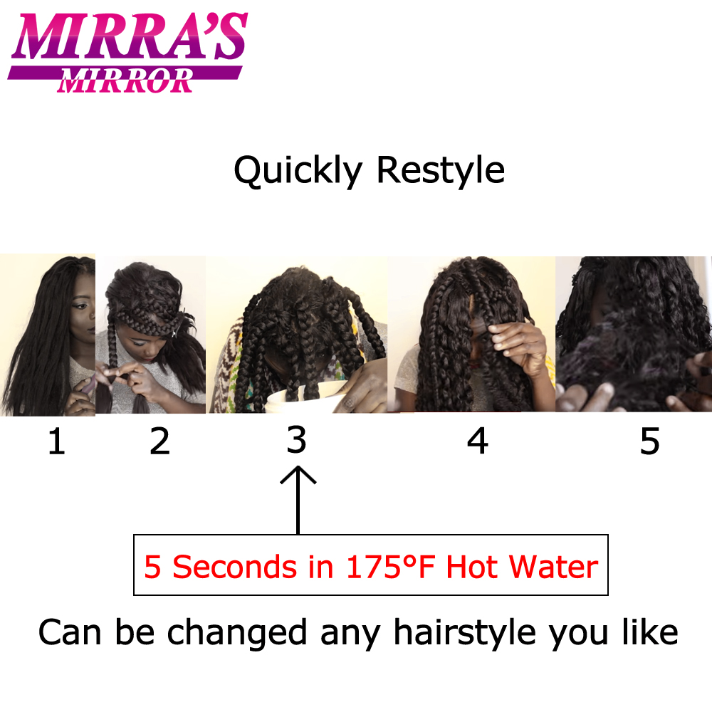 Ombre extensões de cabelo, pré esticada trança