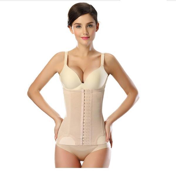 Emagrecimento abdômen com cinto de queima de gordura da cintura fina cintura estômago fechamento com nenhum padrão de plástico