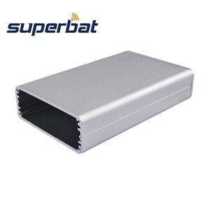 Image 2 - Superbat อิเล็กทรอนิกส์อัดอลูมิเนียม Enclosure กรณีเครื่องมือ PCB แหล่งจ่ายไฟเครื่องขยายเสียงกล่อง DIY 110*71*26 มม.