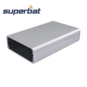 Image 2 - Superbat électronique extrudé boîtier en aluminium boîtier Instrument PCB alimentation amplificateur boîte bricolage 110*71*26mm