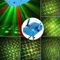 R & G Красный Зеленый Лазерный Свет Этапа Рождественский День Рождения КТВ Партии Диско DJ Этапа Лазерный Проектор Освещения Света Pattern освещение
