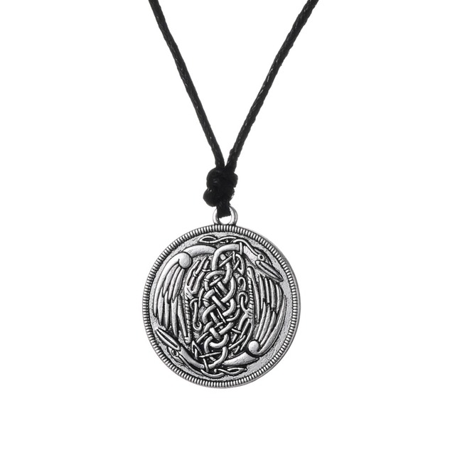 Dawapara Herons Irish Pendant Necklace Symbol Of Harmony And Peace