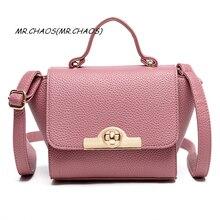 2017 berühmte Marke Trapeze Tasche Rosa Frauen Leder Handtaschen Luxus Drehverschluss Umhängetasche Kleine Messenger Crossbody Taschen Für Frauen