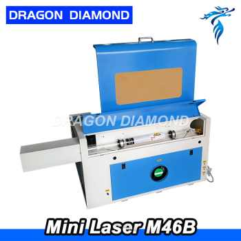40w 50w New 400*600mm Mini CO2 Laser Engraving Cutting Machine Engraver LZ-M46B