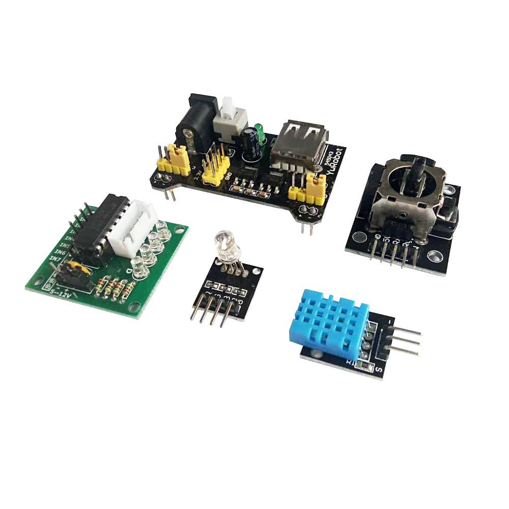 Keywish Plus Complète RFID Capteur Starter Kit Pour Arduino UNO R3 Starter Kit D'eau-niveau Capteur Servo/DC/Moteur pas à pas RGB LED - 5