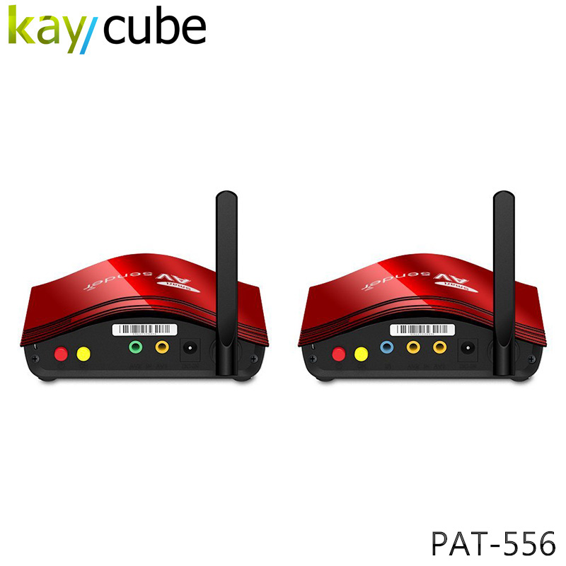 PAT-556 300m Transmission 5.8Ghz Digital STB Wireless Av Transmitter And Receiver Video Transmission 8 Channel Anti-interference pat 550 5 8ghz 8ch digital stb wireless sharing device audio video equipment wireless av transmitter receiver for dvd dvr iptv