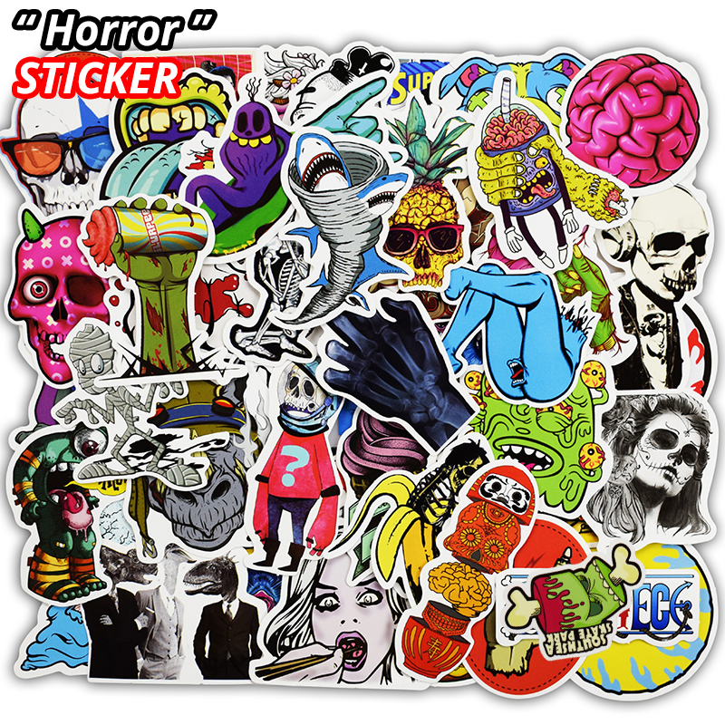 AIBOULLY 50 Pcs Stickers for Laptop Skateboard Car Toy