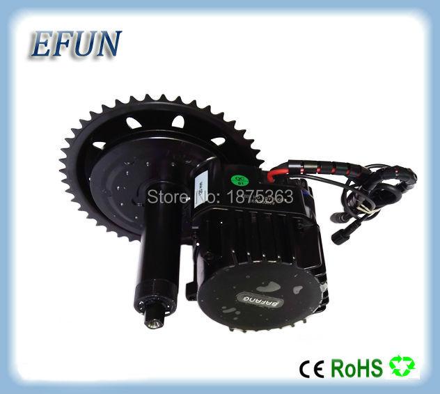 Free shipping BBSHD 48V 1000W Ebike Electric bike Motor BAFANG mid drive conversion kit C965 display/color LCD display
