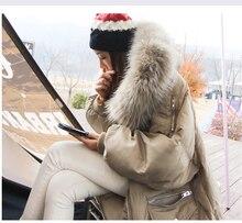 H.SA Large Fur Collar Women Parkas 2018 Female Oversize Thicken Cotton Parka X-Long Ladies Outerwear Jacket Winter Snowwear Coat
