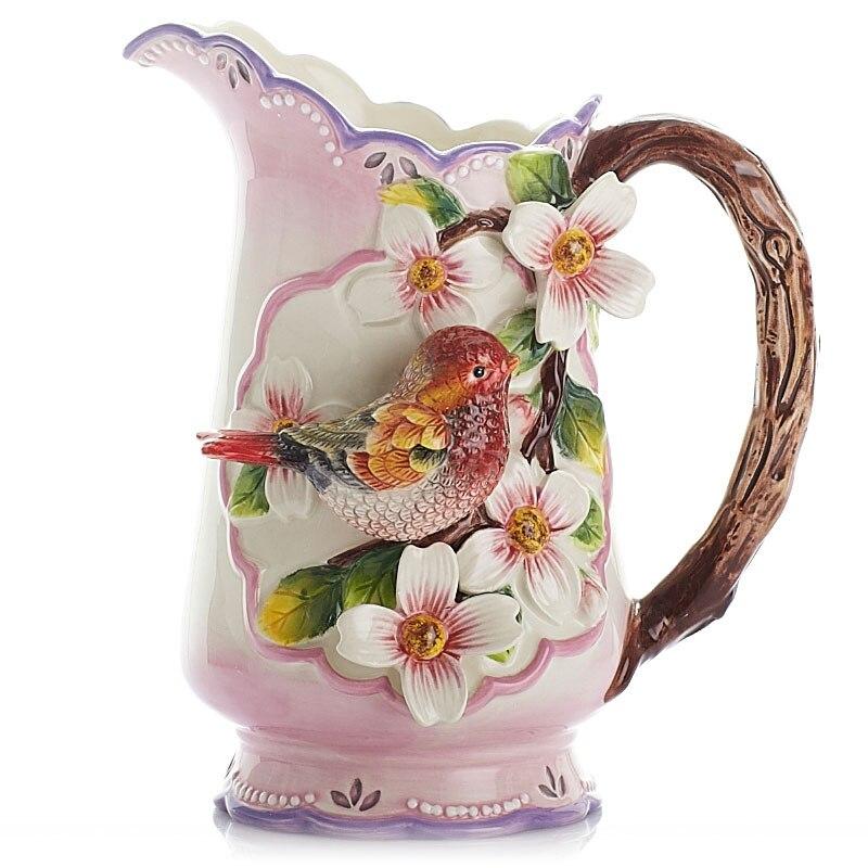Wedding Gift Vase: C Vase Home Furnishing Decoration Modern Minimalist Red
