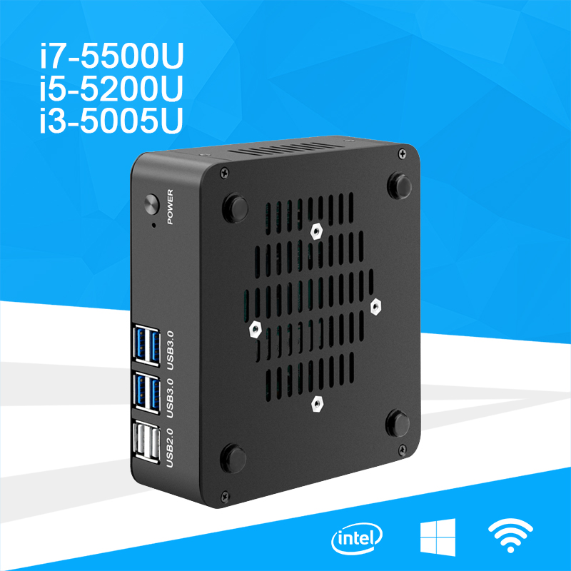 X35 Mini PC 5th Intel Core i7 5500U i5 5200U i3 5005U Dual Core Energy-saving Desktop Office PC Windows 7/8/10 HDMI VGA WiFi hot sale celeron mini pc desktop computers dual lan mini pc x29 j1800 j1900 2 gigabit lan hdmi vga windows 7 win10 ubuntu