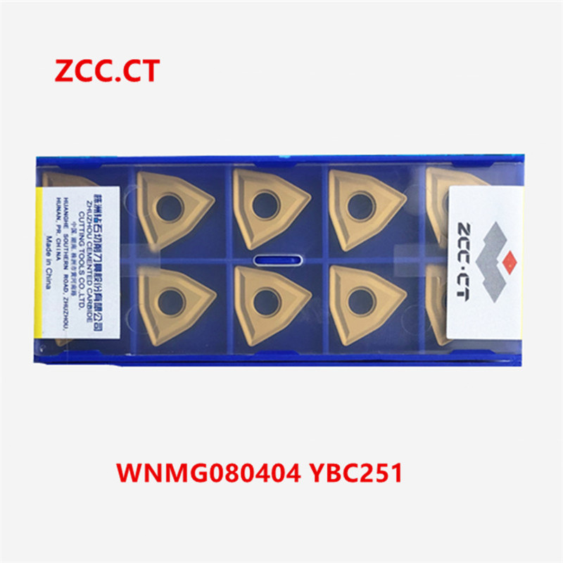 10pcs ZCC.CT SNMG120404-PM YBC251 SNMG431-PM Original genuine