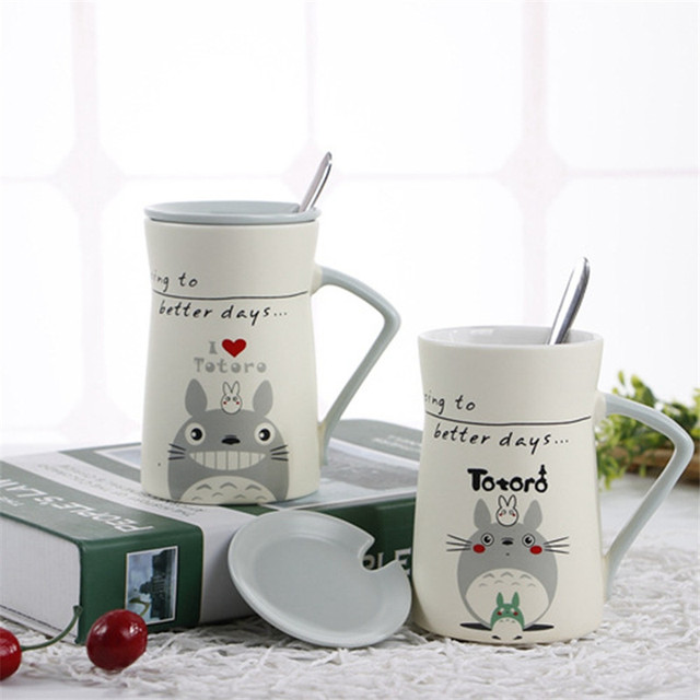 400ML Totoro Mugs (4 Design)