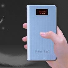 Портативное Внешнее зарядное устройство power Bank 8000 мАч для сотового стильный дизайн с отличительным видом. Чехол для телефона