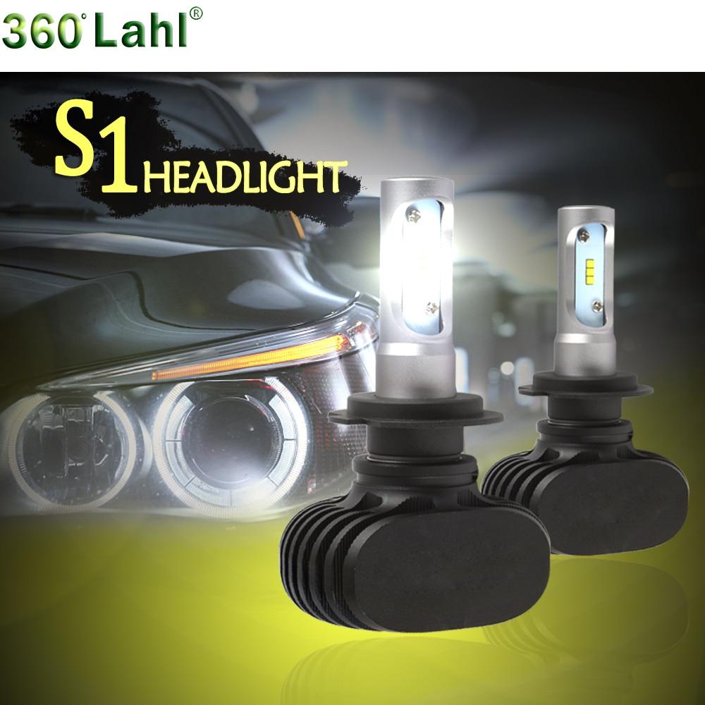 Buy S1 Auto Car Headlight Lamp H4 H7 Led Bulbs 12v 9005 9006 Hb4 H27