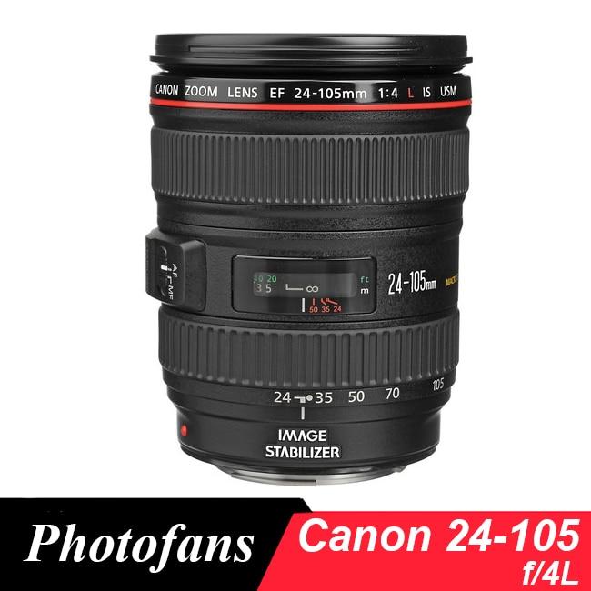 Объективы Canon 24-мм 105 мм f4 Canon EF 24-105 мм f/4L IS USM