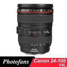 Canon 24 105mm f4 objektiv Canon EF 24 105mm f/4L IST USM Linsen