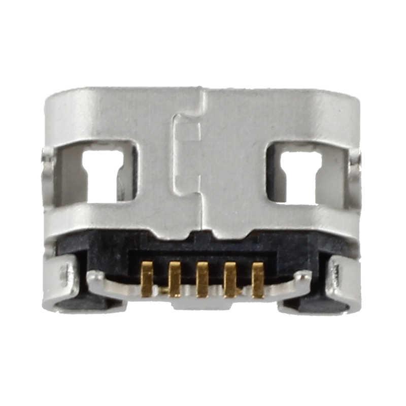 10 pièces Micro USB connecteur 5 broches usb prise de charge femelle pour MP3/4/5 Huawei Lenovo ZTE et autres ensembles de Table mobiles tels que