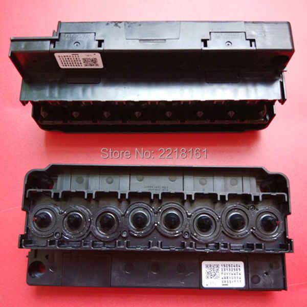 2 pcs/lot untuk Epson 4800 4880 7800 9800 R1800 R2400 F158000 F160010 dx5 print head manifold/adapter berbasis air