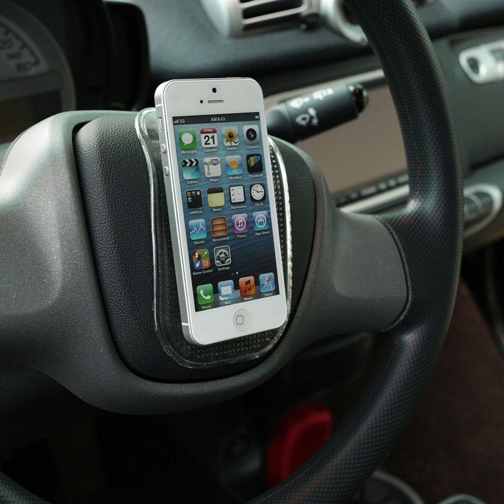 2pcs Cool Gadgets Accessories Sticky Phone Pad Dashboard