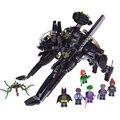 07056 Batman The Transcursor Conjunto Bat Nave Espacial Bloques de Construcción Ladrillos de Juguetes Educativos 70908 Compatible con Lepin