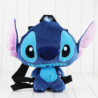 Lilo And Stitch Plush Backpack School Animal Shaped Cute Messenger Bag Shoulder Coin Purse Plush Bag
