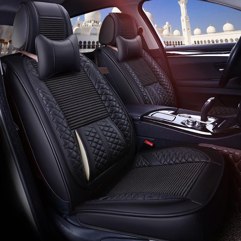 Крышка сиденье автомобиля Универсальный Подушки для Land Rover Discovery 3/4 Freelander 2 Sport диапазон Спорт Evoque стайлинга автомобилей