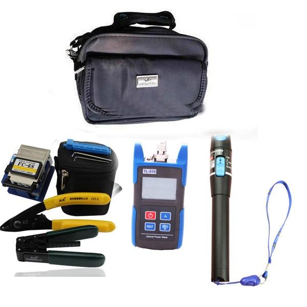 Fiber Optic Bag Ftth Tool Kit With Optical Fiber Cleaver