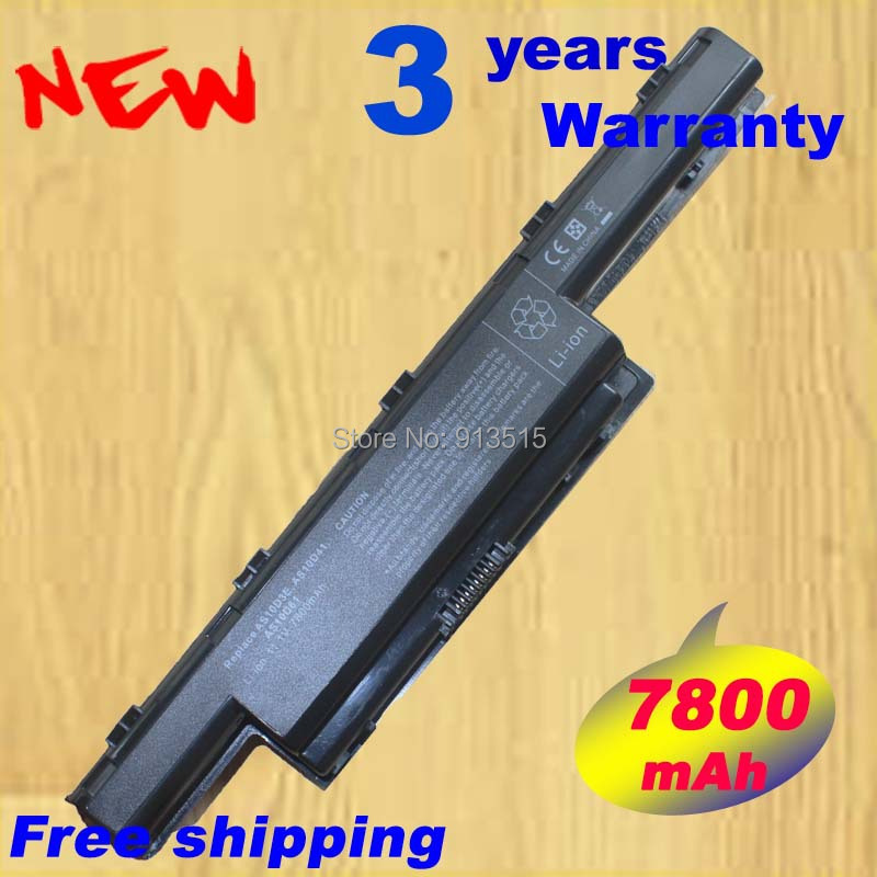 7800mAh Battery for Acer Aspire V3 5741 5742 5750 5551G 5560G 5741G 5742G 5750G AS10D31 AS10D51 AS10D61 AS10D71 AS10D75 AS10D81 wzsm original power switch button board with cable for acer aspire 5741 5741g 5742 5552 button board ls 5893p tested well