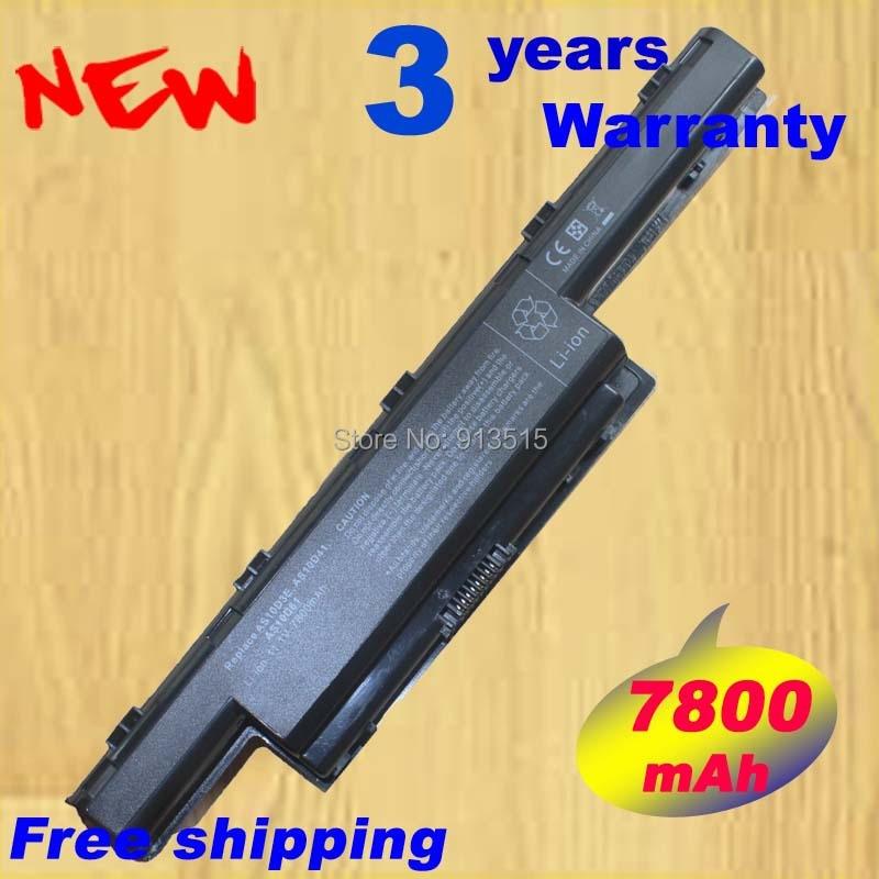 7800mAh Battery for Acer Aspire V3 5741 5742 5750 5551G 5560G 5741G 5742G 5750G AS10D31 AS10D51 AS10D61 AS10D71 AS10D75 AS10D81 11 1v laptop battery for acer aspire 4741 5742g 5552g 5742 5750g 5741g as10d31 as10d51 as10d81 as10d75 as10d61 as10d41 as10d71