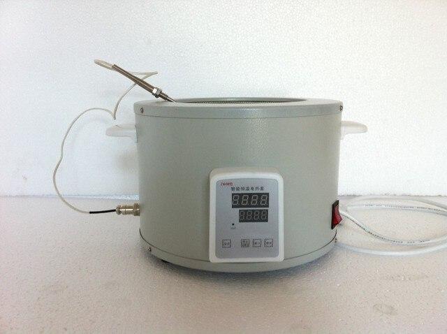 Z certyfikatem CE sprzęt laboratoryjny 1000 ml elektroniczny czasza grzejna z temperatury-rozporządzenie z zewnętrznym sonda termoelektryczna