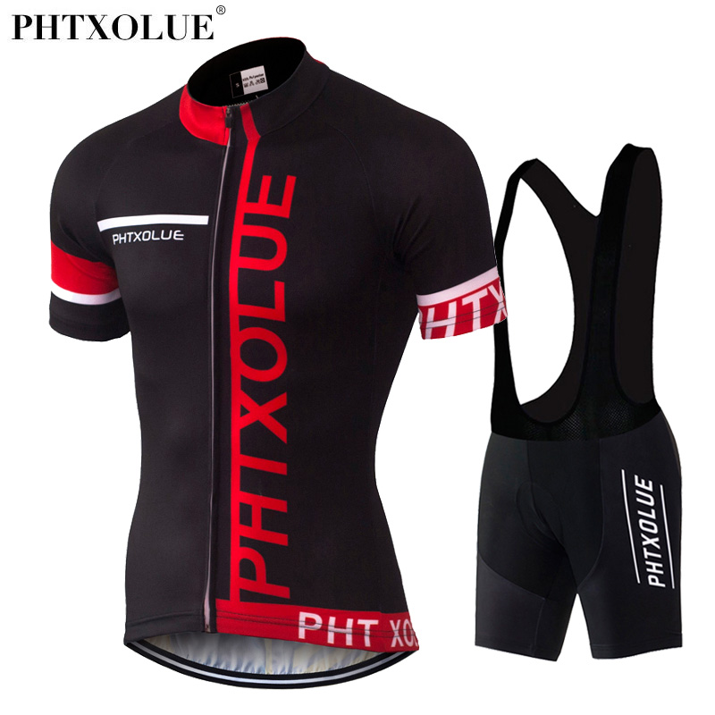 PHTXOLUE Cycling Clothing Bicycle Wear/Breathable Bike Clothing Cycling Sets /Short Sleeve Cycling Jerseys sets actionclub mens winter cycling jerseys sets straps cycling suit long sleeve bicycle bike clothing male breathable running set