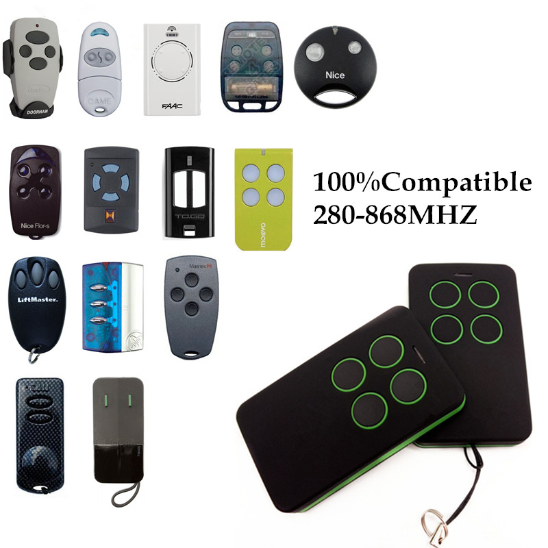 1x Hormann Marantec Somfy Faac Doorhan Nice Came Beninca Sommer Novoferm Liftmaster Garage Door Gate Replacement Remote Control Aromatic Flavor Remote Controls Back To Search Resultsconsumer Electronics