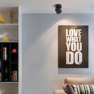 Image 4 - Aisilan Spot lumineux Led pour le plafond, éclairage de plafond réglable, design nordique, 90 degrés AC 90 260V, montage en Surface, salon