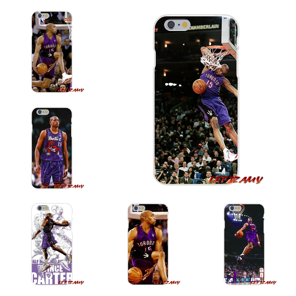 For Samsung Galaxy S3 S4 S5 MINI S6 S7 edge S8 S9 Plus Note 2 3 4 5 8 Vince Carter basketball Slam Dunk Soft Phone Case Silicone