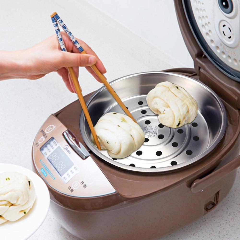 Kitchen Colander Steamer Stainless Steel Steamer Rice Cooker Steamer Instant Pot Steam Basket Vegetable And Fruit Drain Basket
